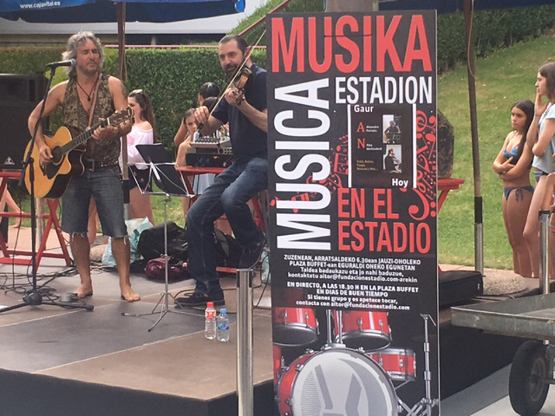 Música en el Estadio