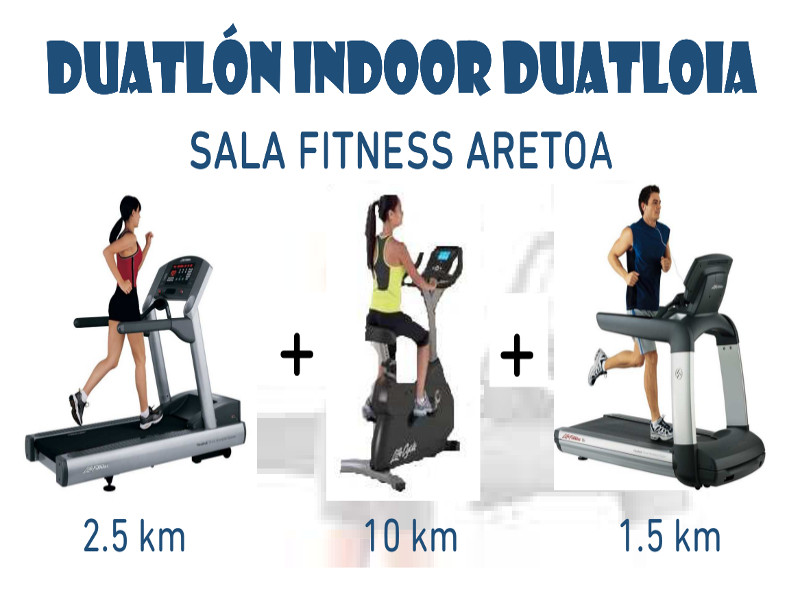 Duatlón Indoor Sala Fitness